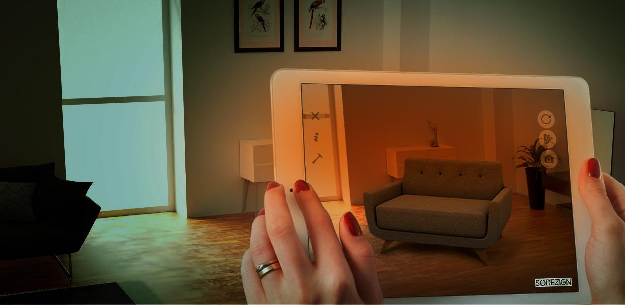 catalogue numérique réalité augmentée aménagement