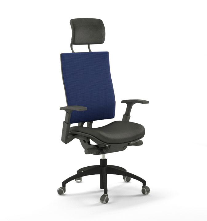 packshot d'une chaise de bureau